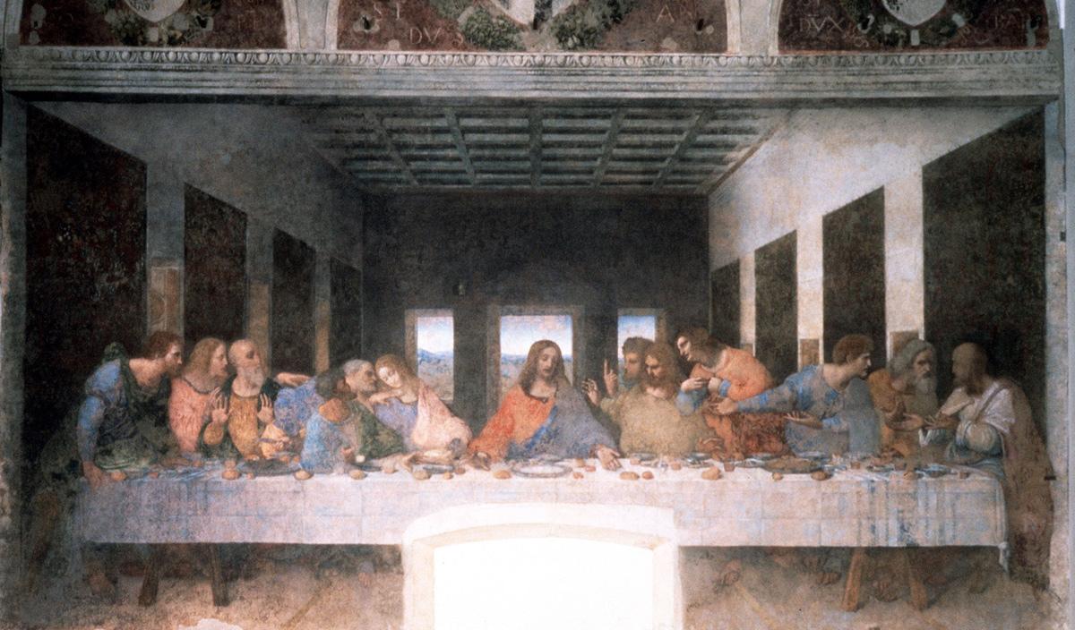 A Última Ceia de Leonardo da Vinci