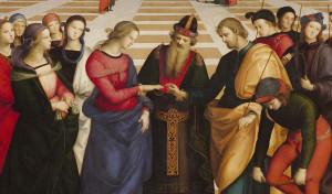 0044 003 300x176 O Casamento da Virgem de Rafael Sanzio
