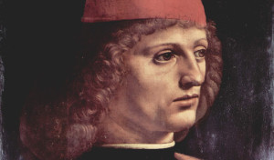 0044 007 300x176 Retrato de Um Músico de Leonardo da Vinci