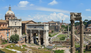 Coliseu, Fórum Romano e Palatino