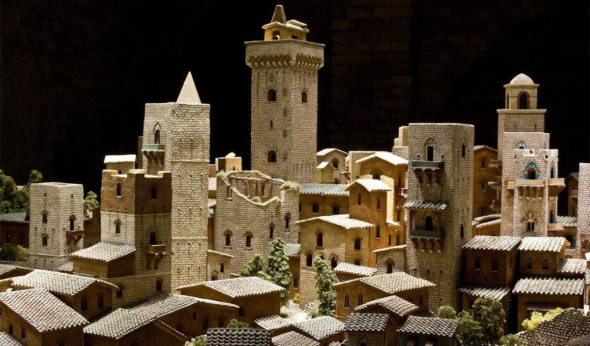 Museu San Gimignano 1300