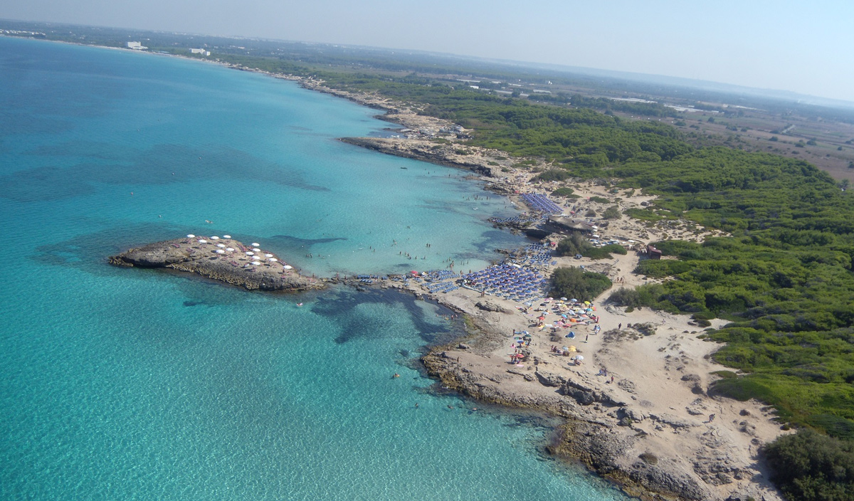 Spiaggia Punta della Suina