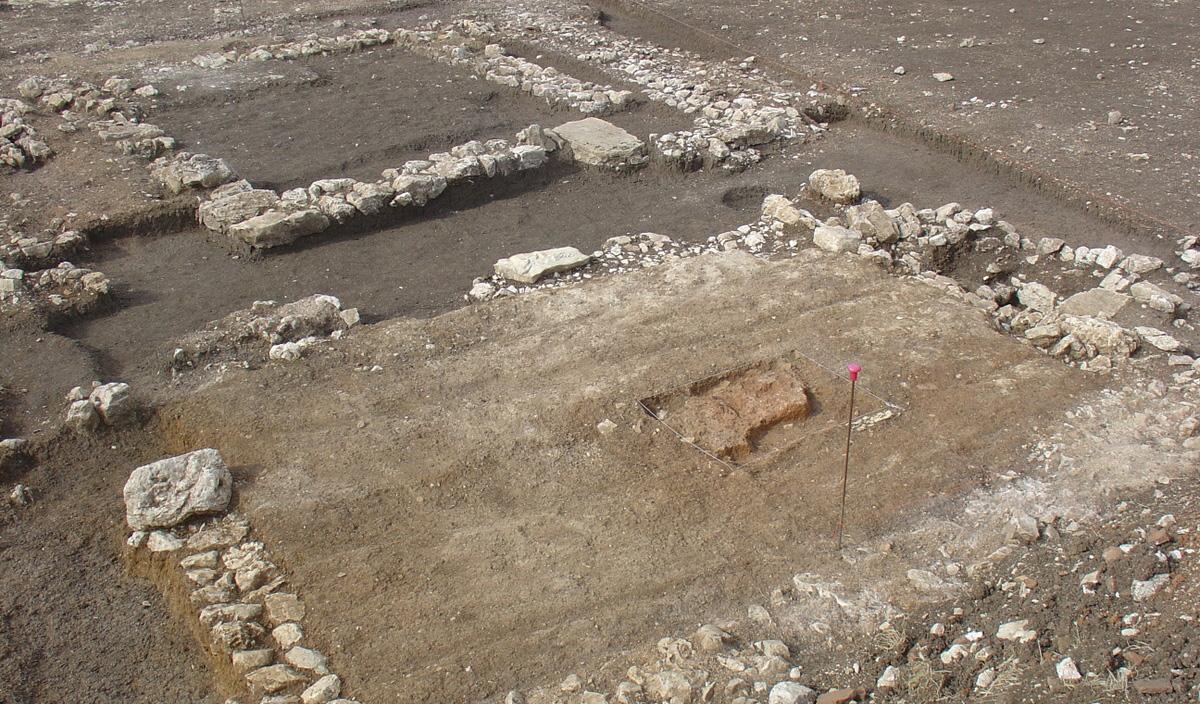 As escavações em Cássia