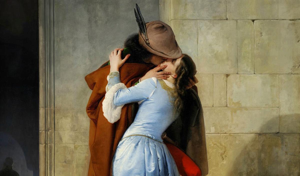 O Beijo de Francesco Hayez