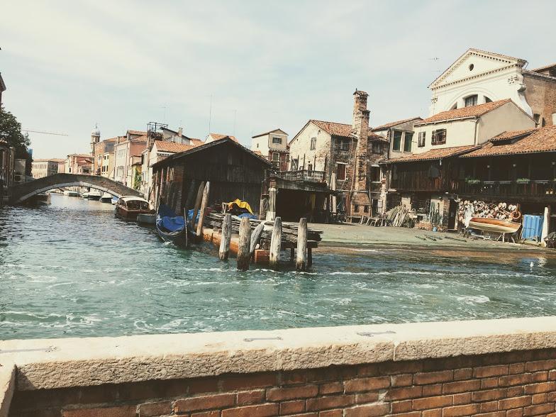 cidade de Veneza lo Squero